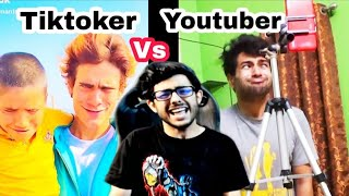 Tiktok Vs Youtube?Carryminati jinndabad | Tiktok roasting | By Cinebap Mrinmoy