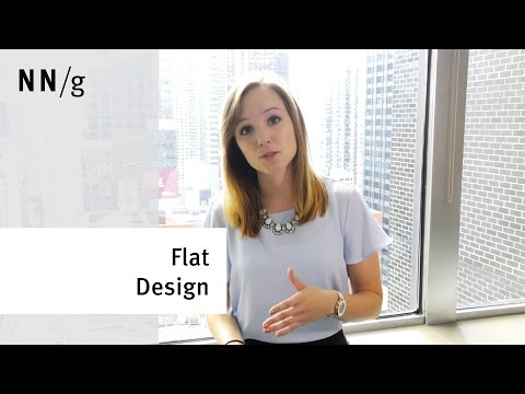 Flat Design Decreases User Efficiency Kate Meyer