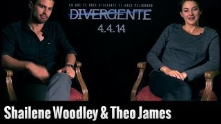 Shailene Woodley y Theo James hablan de Divergente