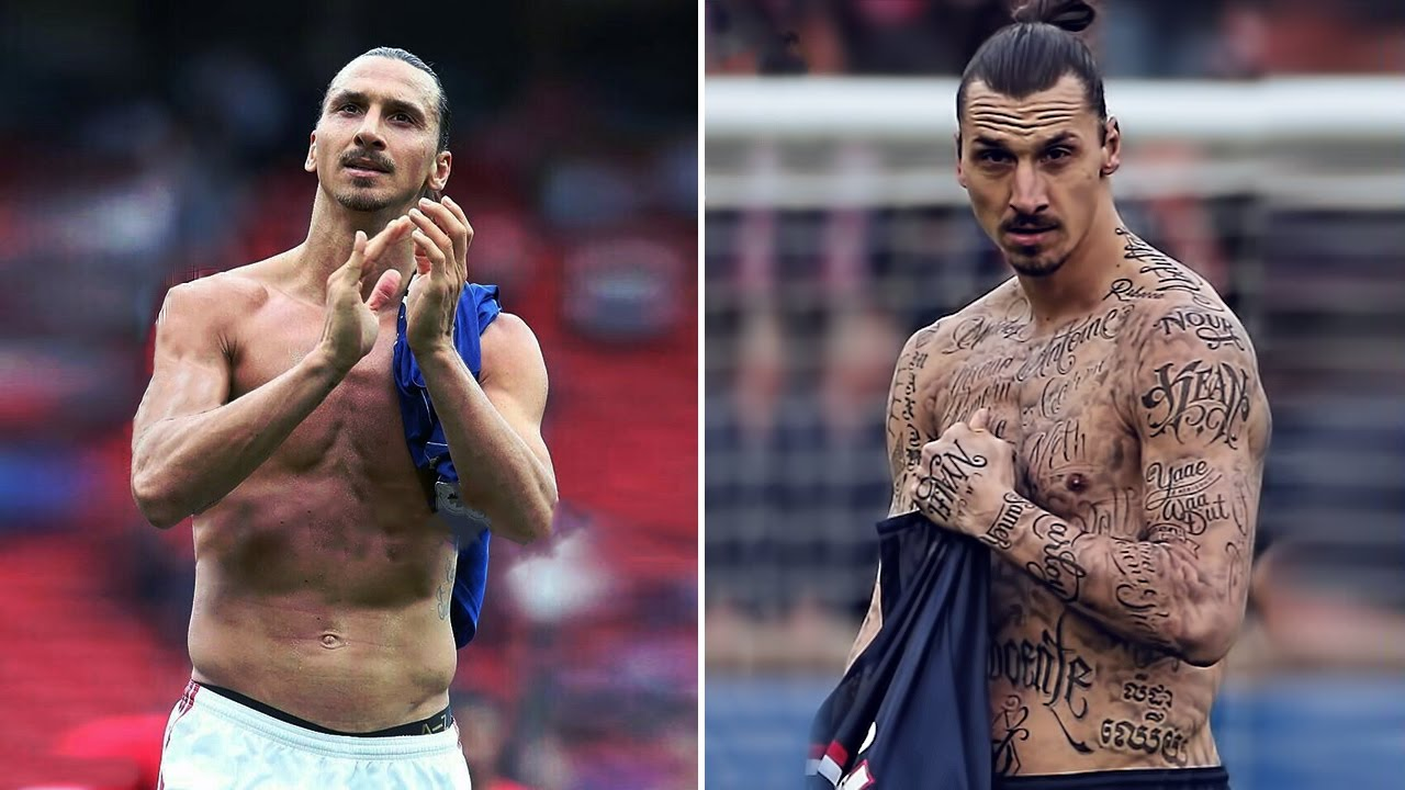 The Ink Is All Over Why Most Footballers Have So Many Tattoos
