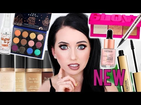 TONS OF FIRST IMPRESSIONS! New Pale Shades of Too Faced Born This Way, KathleenLights Zodiac