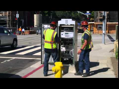 Los Angeles Metro-Expo Line- Santa Monica --Extension TEST TRAIN Programmers