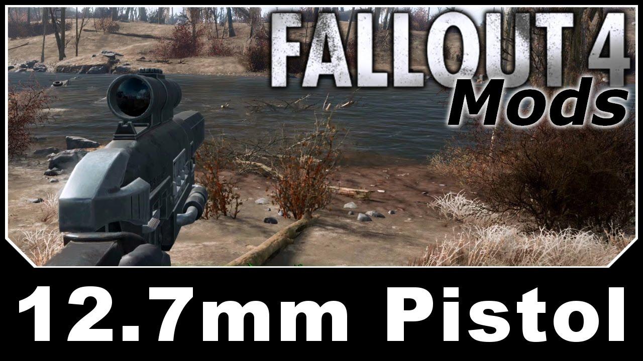 Download Fallout 4 Mods - 12.7mm Pistol