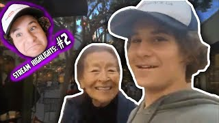 THIS IS WHAT HAPPENED WHEN I SAW GRANDMA! (STREAM HIGHLIGHTS #2)
