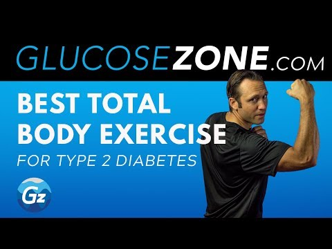 BEST TOTAL BODY EXERCISE FOR TYPE 2 DIABETES: LEVEL 1