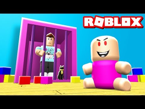 ESCAPE THE BABY DAYCARE OBBY IN ROBLOX