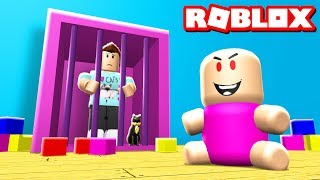ESCAPE EL BABY DAYCARE OBBY EN ROBLOX