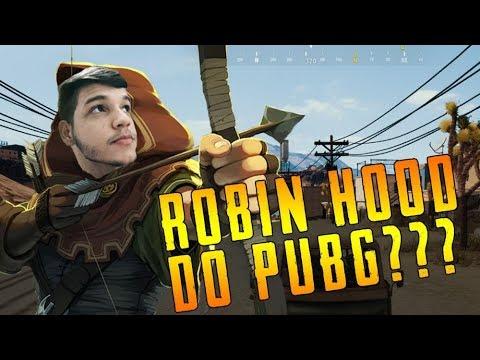 Highlights e momentos épicos da live, ROBIN HOOD? | PUBG