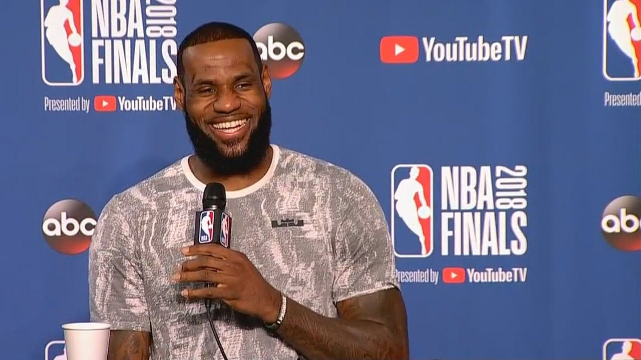 d4fac82c00e4 LeBron James Hints At Leaving Cleveland Cavaliers To Create A Super Team  That Can Defeat Warriors!