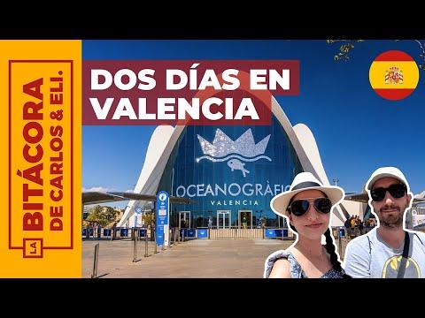 ¿Qué ver en VALENCIA en 2 días? (España) 4K