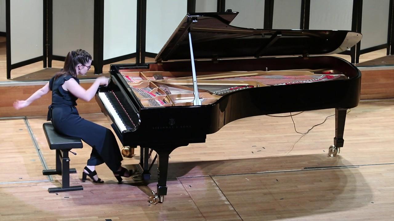 "Nikolai Kapustin - Concert Etude no. 8 ""Finale"" (Veerle Winkelmolen)"
