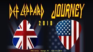 Def Leppard & Journey Concert