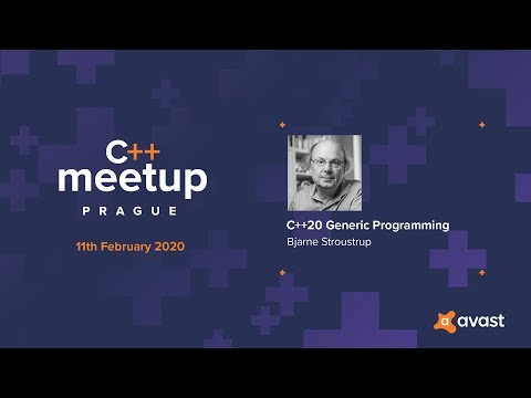 Bjarne Stroustrup: C++20 Generic Programming