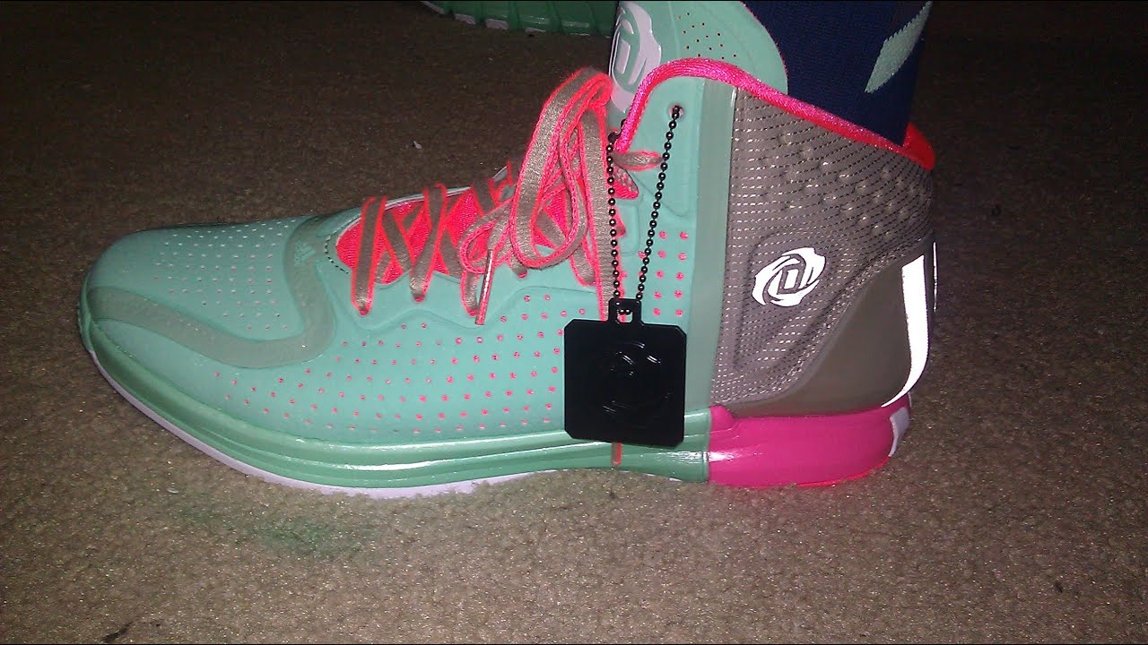 35ed47d3a4c adidas D Rose 4 Boardwalk unboxing - YouTube