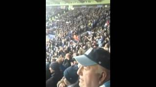 Manchester City Fans Singing Na Na Na City Song Vs Leicester City Away
