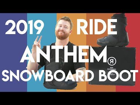 2019 Ride Anthem Snowboard Boots Review