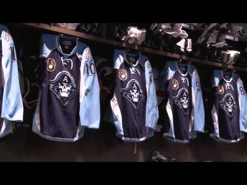 Harry Z Gives a Tour of the Admirals New Digs