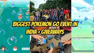 Biggest Pokemon Go Event in India | Self Made Lure Party, Events and Giveaways