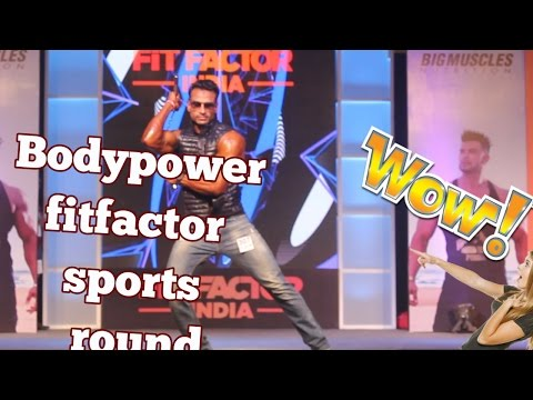 The best performance sports wear round Bodypower fitfactor india 2017.