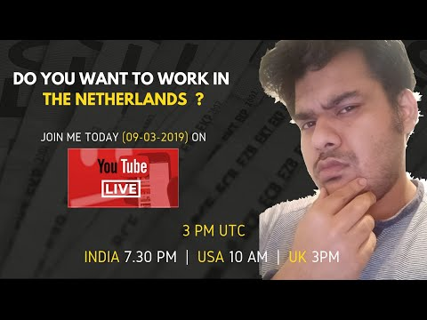 How To Find A Job In The Netherlands ?