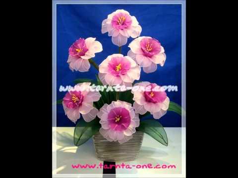 Tarnta-One ผ้าใยบัว Stocking flowers