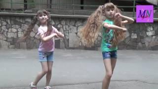 Урок восточного танца для детей. Танец стрит-шааби.The lesson oriental dance for children.