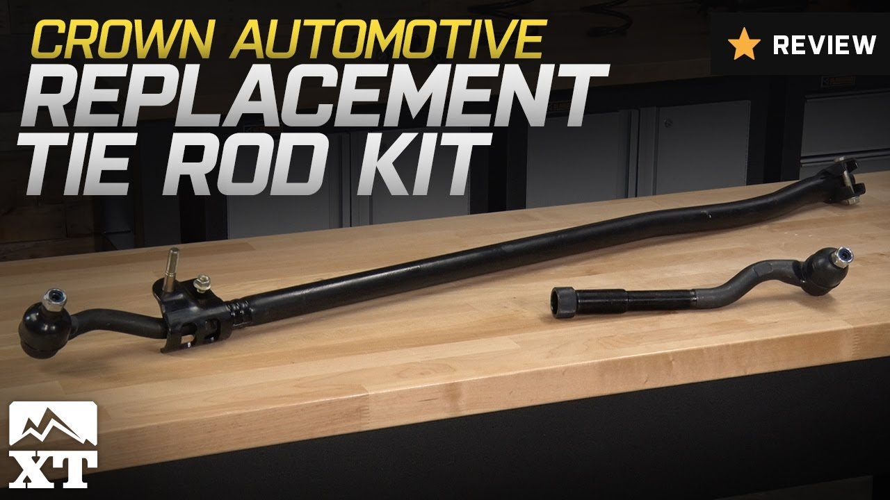 hight resolution of jeep wrangler crown automotive replacement tie rod kit 2007 2017 jk review