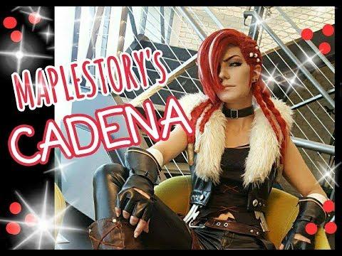 【MapleStory's CADENA】debut at NEXON America !!!