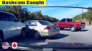 Ultimate North American Car Driving Fails Compilation: The One Where Brake Check Go Wrong