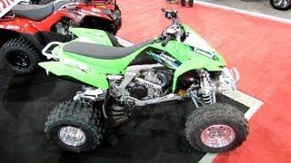 2013 Kawasaki KFX450R Sport ATV - 2012 Salon National du Quad - Laval, Quebec, Canada