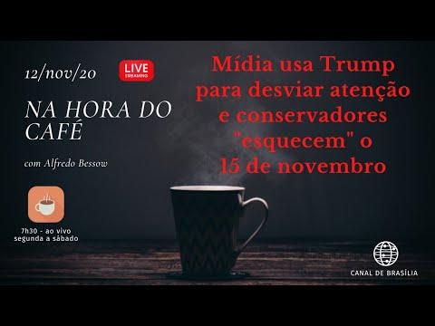 Na hora do café - Conservadores brasileiros não se mobilizaram para domingo!