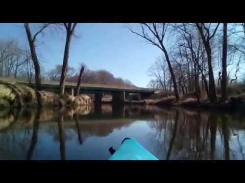 First kayak run 2017 Part1