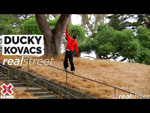 Ducky Kovacs: REAL STREET 2021   World of X Games