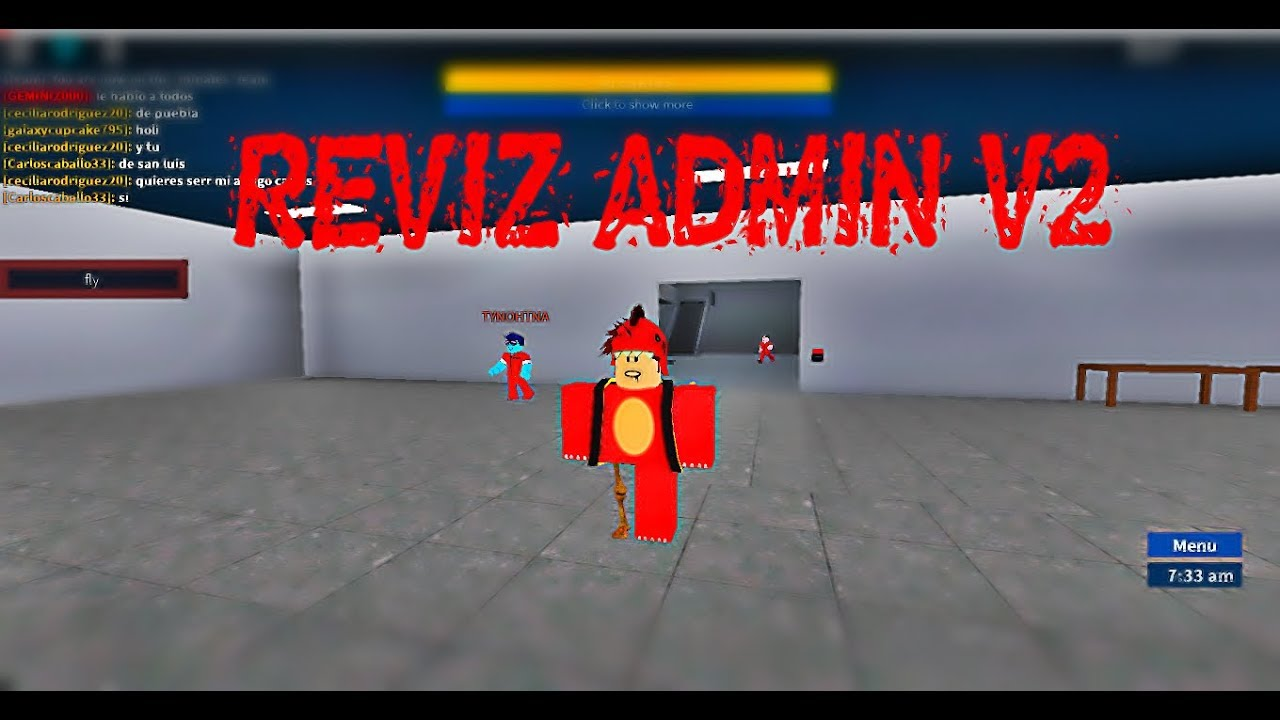 NEW SCRIPT PRISON LIFE [REVIZ ADMIN V2] SPIN/ FLY /BTOOLS/SPAM AND MORE