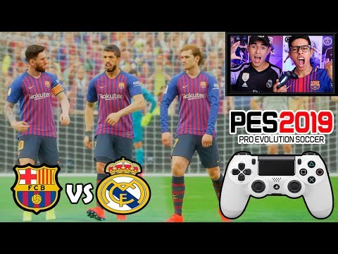 duelo-Épico!!!-barcelona-vs-real-madrid-(griezmann-&-hazard)-|-pes-2019