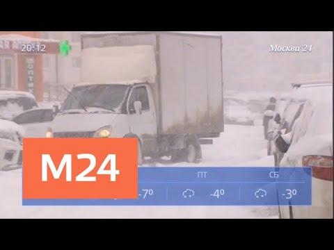 Погода готовит москвичам новый удар – синоптики - Москва 24