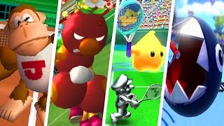 Evolution of Underused Characters in Mario Tennis Games (2000 - 2018)