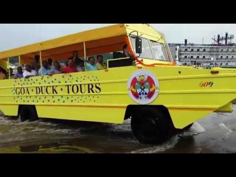 Goa Tourism - Amphibious Vehicle tour, water bus
