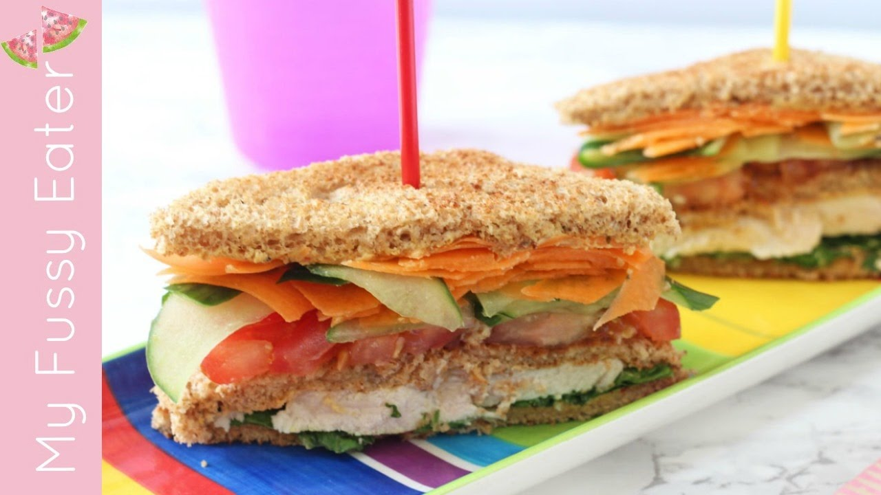 Club Sandwich For Kids My Fussy Eater Easy Kids Recipes