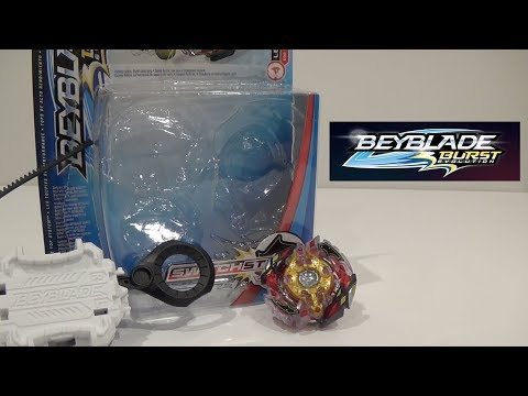 Beyblade Burst Evolution Legend Spryzen S3 Unboxing and Review! + QR Code Reveal and Test Battles!