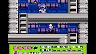 Поиграем в Dendy Ninja Cat Kyatto Ninden Teyandee