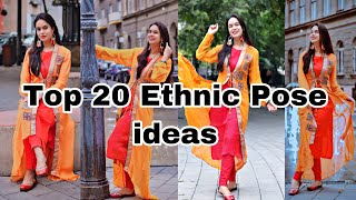 Top 20 Suit Poses For Girls Photo-shoot  N Ethnic Wear Suit \u0026 Kurtis Pose MYClicks  Nstagram.
