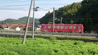 キハ120形(試運転列車1B)道の駅あらエッサ付近通過