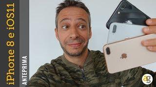 IPHONE 8 plus e iOS 11 APPLE ANTEPRIMA