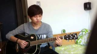 Jung Yong Hwa - Because I Miss You - guitar (cover)
