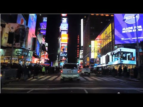 Midtown Manhattan Holiday Night Tour (feat. Times Square, 34