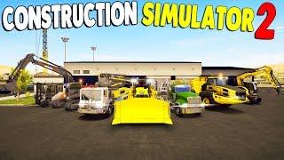 I BUILT A NEW HOME & CONSTRUCTION EMPIRE | Construction Simulator 2 - US Pocket Edition Gameplay