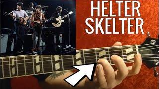 helter skelter by the beatles guitar lesson paul mccartney john lennon