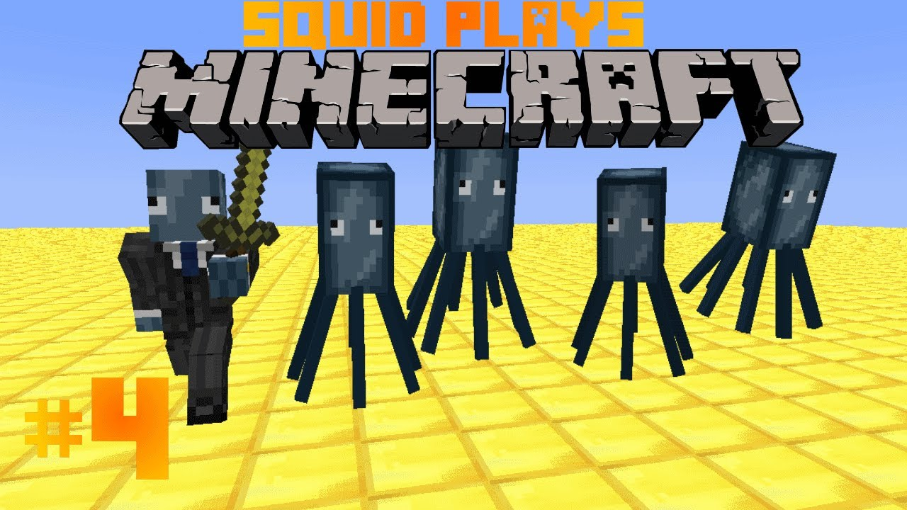 Minecraft Hunger Games Stampy Cat and Squid HD - YouTube