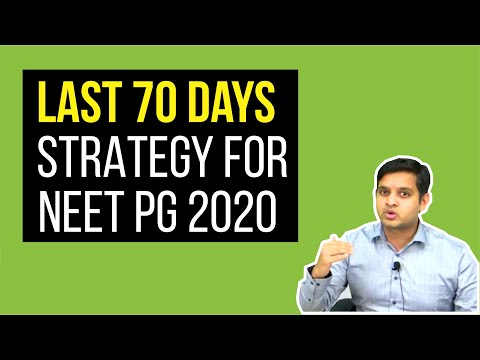 last-70-days-strategy-fro-#neet-pg-2020
